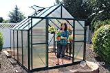 Grandio Ascent 8x8 Greenhouse Kit - 6mm Twin-Wall Polycarbonate