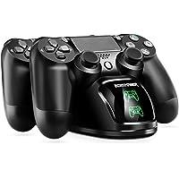 Cargador PS4 ECHTPower DualShock 4 Estación de Carga