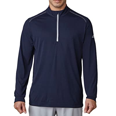 .com : adidas Golf Men's Adi Ultra Lightweight UPF 1/4 Zip Jacket : Clothing