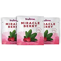 Miracle Berry Fruit Tablets Single Serve x 3 - 3 Gently Dried Miracle Fruit Tablets - Sweeten Those Sour Moments