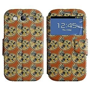 LEOCASE modelo lindo Funda Carcasa Cuero Tapa Case Para Samsung Galaxy S3 I9300 No.1006039