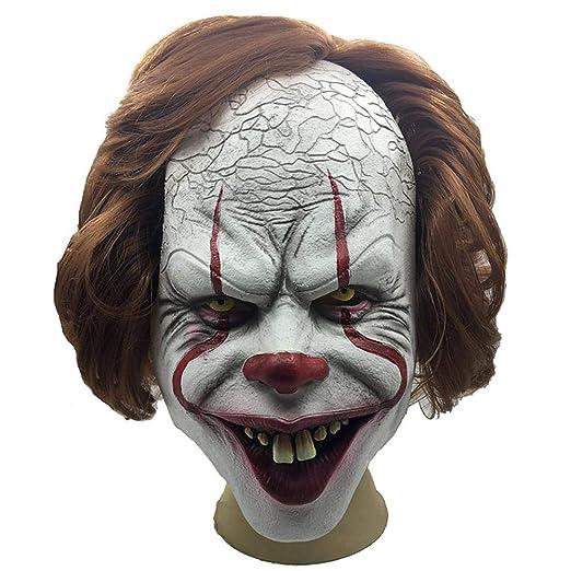 monstera Accesorios de Terror de Halloween Máscara de Payaso ...
