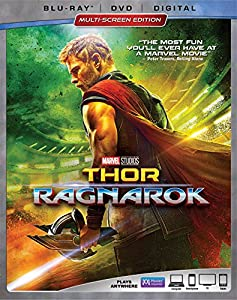 Cover Image for 'Thor: Ragnarok [Blu-ray + DVD + Digital]'