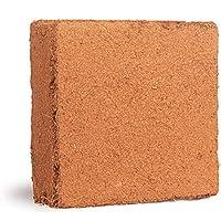 Skanda Coco Peat Block - 5Kg Block - Expands to 75 Liters of Cocopeat Powder