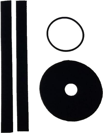 Vinyl Vac 33 /& Vinyl Vac 33 Combo Replacement Pad Kit 1 Pair