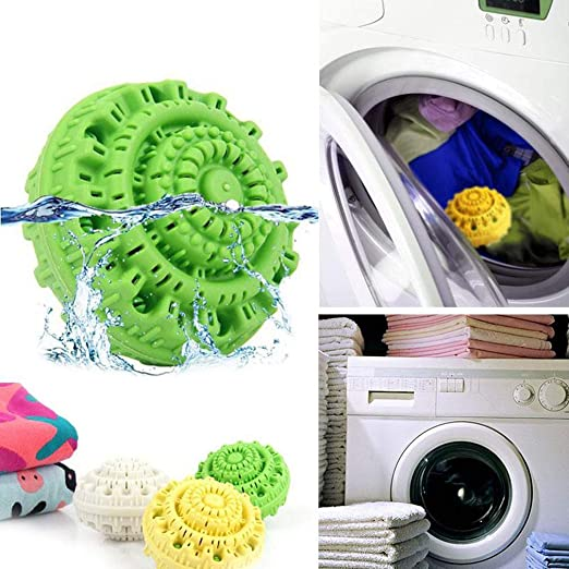 2019 Eco Magic Laundry Ball Orb No Detergent Wash Wizard Style