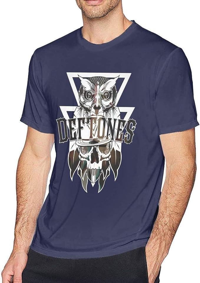 Straw and Berry Camiseta de Manga Corta Deftones para Hombre Música Divertida Talla más Grande 4XL: Amazon.es: Ropa y accesorios