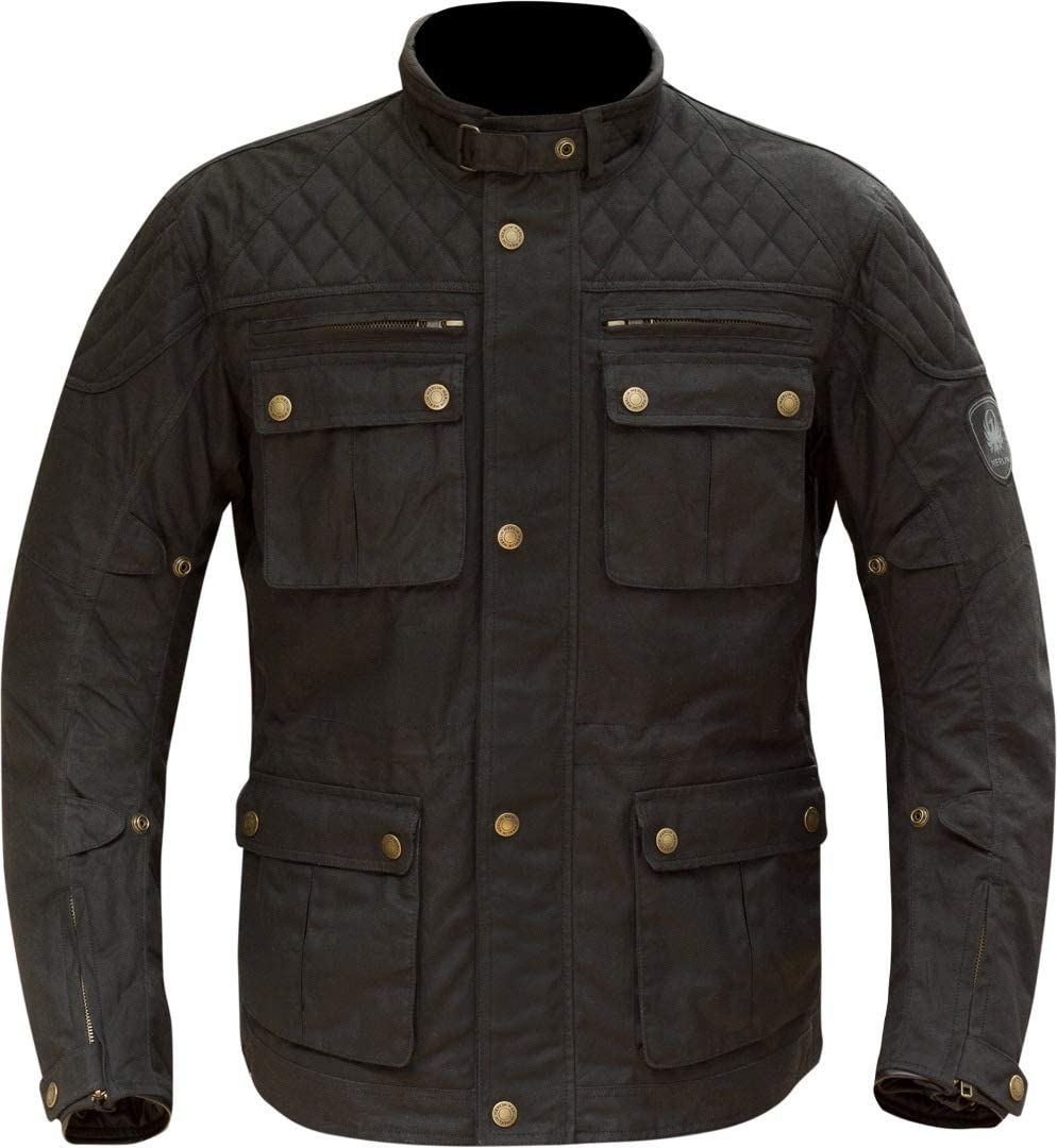 Brown Small Merlin Yoxall Wax Motorcycle Jacket