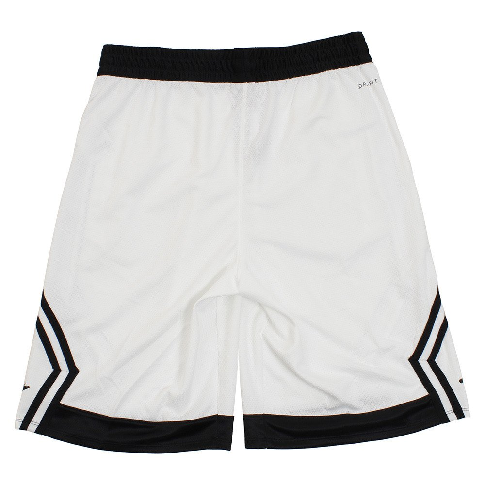 08e7607f83d5 Amazon.com   Jordan Rise Diamond Basketball Shorts Mens (White Black ...