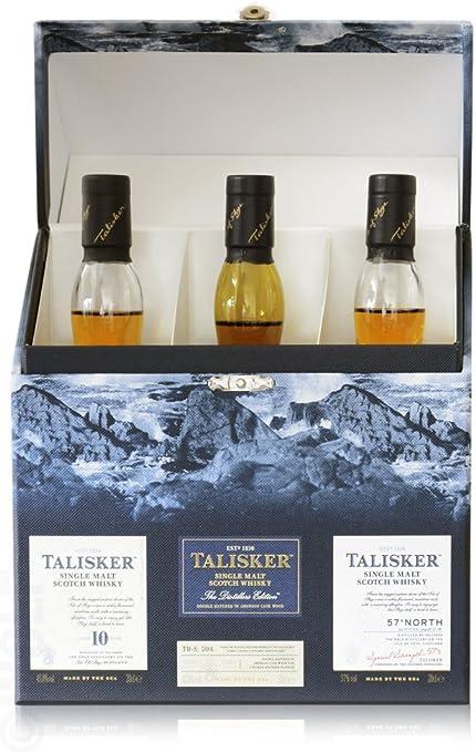 Estuche 3 botellas Whisky de Malta Escocés Talisker Storm: Amazon.es: Instrumentos musicales