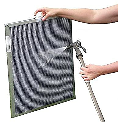 Heating, Cooling 20x25x1 Electrostatic Furnace A/C Air Filter - Washable, Permanent, Lifetime