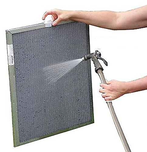 Heating, Cooling 20x25x1 Electrostatic Furnace A/C Air Filter - Washable, Permanent, Lifetime (Air Filter 21 X 25 X 1 compare prices)