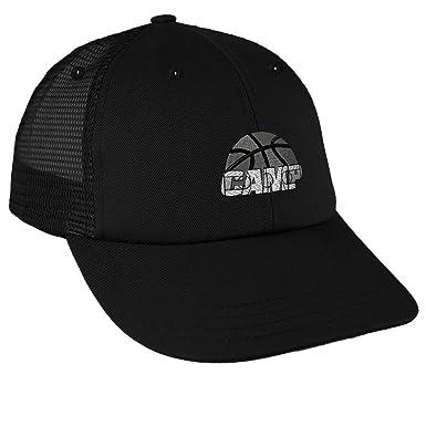 Sport Basketball Camp B W Embroidery Unisex Adult Snaps Cotton Low Crown  Mesh Golf Snapback Hat Cap b22e0b5213e