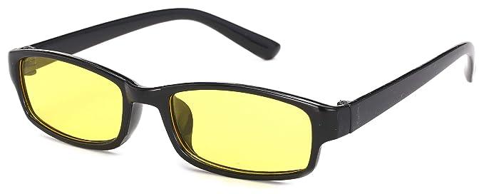 84ea638ccd 4sold Slim model Correction nuit driving jaune lentilles lunettes de soleil  lunettes de soleil écaille füllend