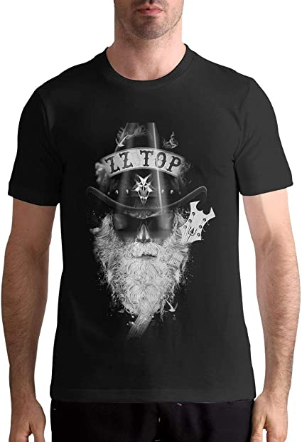 Camiseta de algodón para Hombre ZZ Top Camisetas clásicas de ...