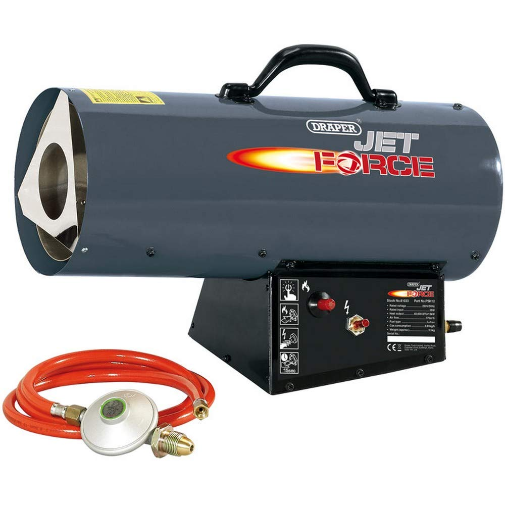 Draper 81033 Jet Force Propane Space Heater