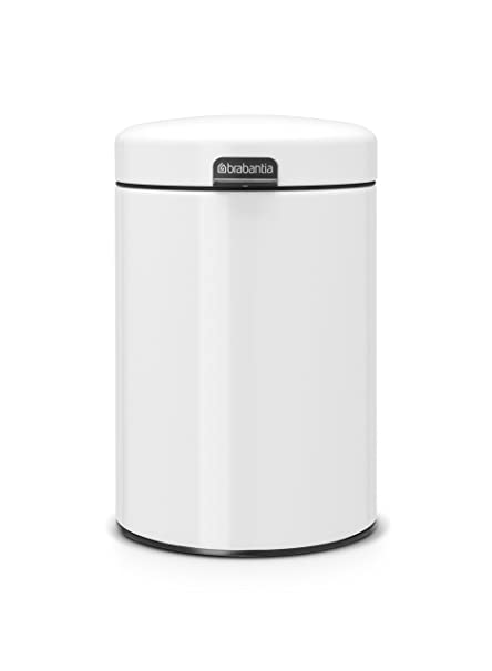 a6731e69524 Image Unavailable. Image not available for. Color  Brabantia newIcon Wall  Mounted Bin ...
