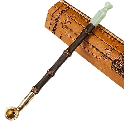 GWJYD Tradicional Antigua Pipa para Fumar Tabaco de Tabaco ...