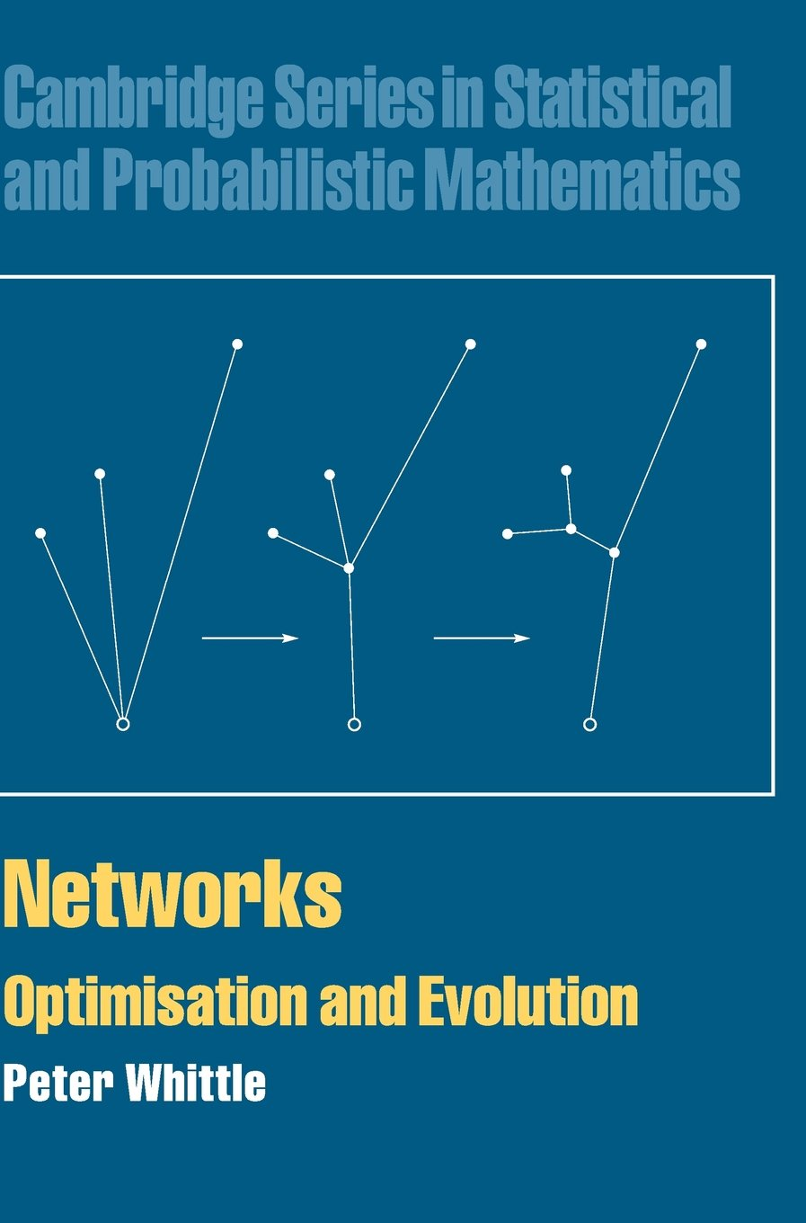 Networks  Optimisation And Evolution  Cambridge Series In Statistical And Probabilistic Mathematics Band 21