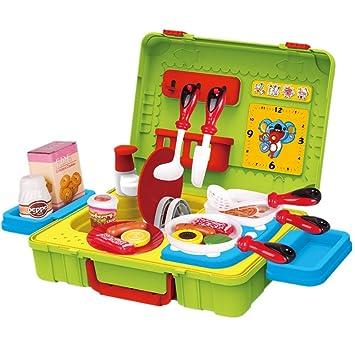 fudaer juguete de cocina juego de utensilios de plstico educativos para nios