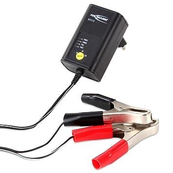 Ansmann 1001-0015 - ALCS 2-12 Cargador de vehículos para baterías de automóviles, Motos, Motocicletas, de Plomo-Gel de Plomo 12V 6V 2V