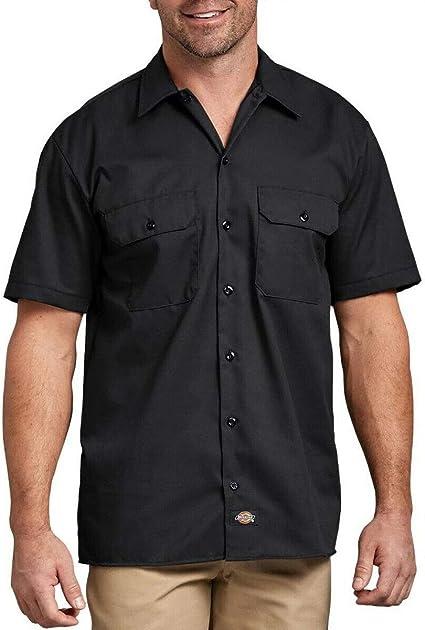 Dickies Mens Flex Short-Sleeve Twill Work Shirt: Amazon.es: Ropa y accesorios