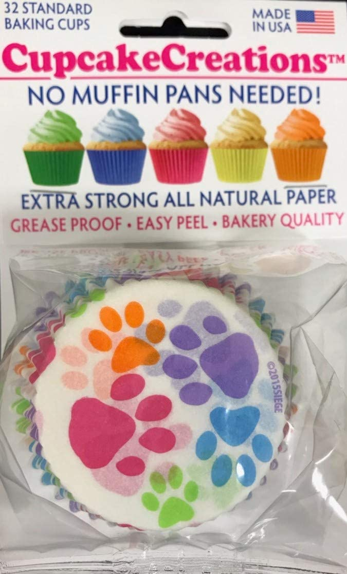 Siege Cupcake Creations 3-pack Seige 32 Greaseproof Paper Baking cups