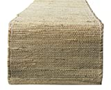 "Chardin home Eco-friendly Natural Jute/hemp Table Runner, Size: 13""x72"""