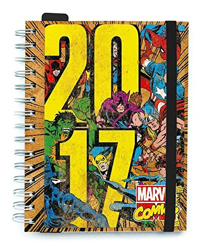 Grupo Erik Editores Marvel Comics - Agenda 2017 Semana Vista ...