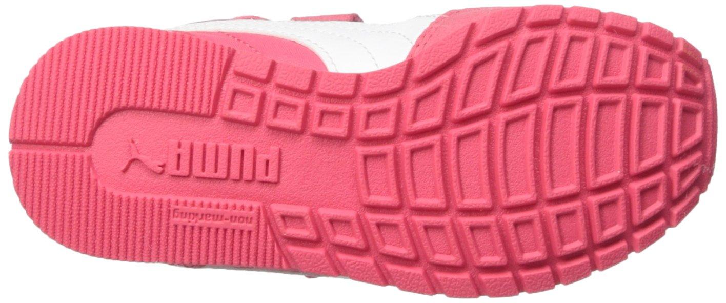 PUMA Unisex ST Runner NL Velcro Kids Sneaker Paradise Pink White, 12.5 M US Little by PUMA (Image #3)