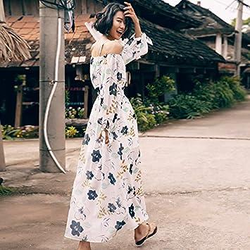 Mayihang vestido Playa Mujer Falda Falda De Vacaciones De Verano ...