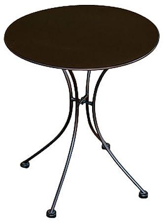 Tisch Garten Aus Schmiedeeisen Rund Farbe Schwarz Dim H 72 X L