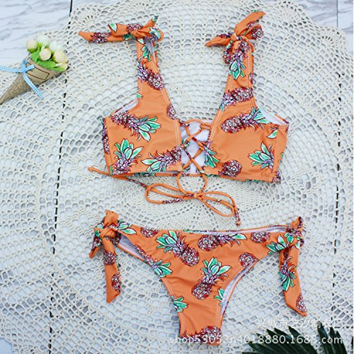 M donna Beachwear split dimagrante Sexy da bagno donna color della da tendenze costume moda set bikini TIANLU awgq0ZUa