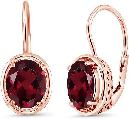 Rose Cut Rhodolite Garnet Post Earrings Made to Order