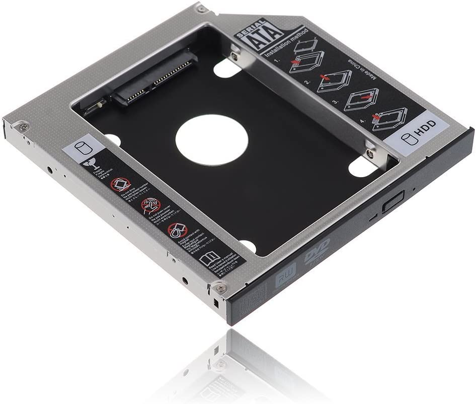 Such as VPCF112FX//B New 2nd Hard Drive HDD SSD Caddy for SONY VAIO F Series