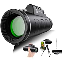$29 » Monocular Telescope - 12X50 High Definition FMC BAK4 【HD Monocular for Bird Watching】 with…