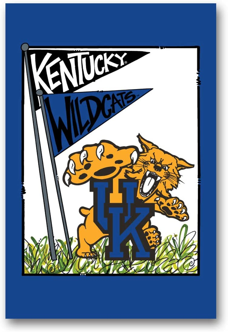 Collegiate Garden Flag (Kentucky Mascot)