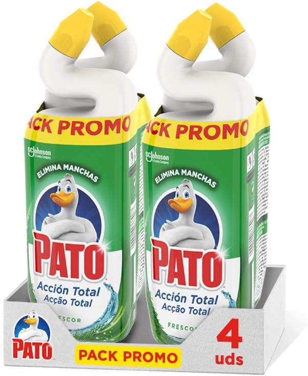 4 botellas Pato WC Acción Total por 7,20€ ¡¡40% de descuento!!