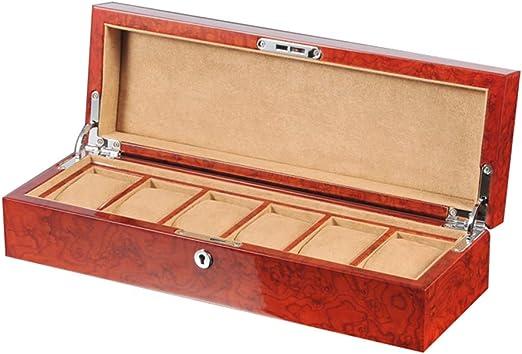 Caja De Reloj De Madera Caja De Mesa De Pintura para Piano Caja De ...