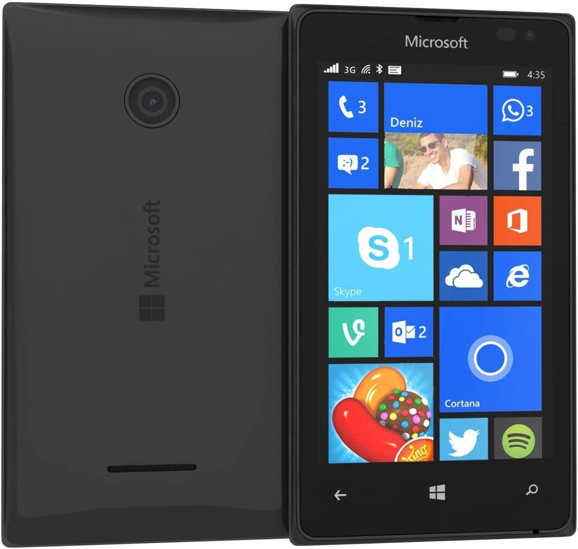 Microsoft Lumia 532 Single SIM Smartphone Compact: Amazon.es ...