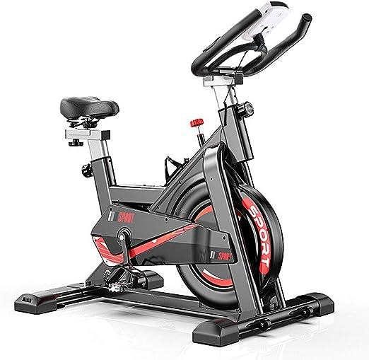 Tribesigns Bicicleta estática con medidor de frecuencia cardíaca ...