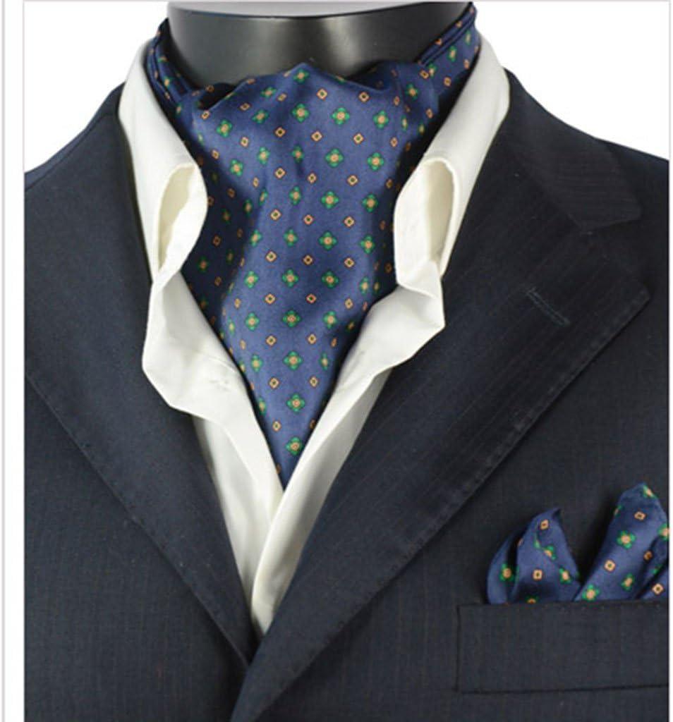 Tie Pins Alfileres de Corbata para Hombre con impresión de Doble Cara de Seda para Traje, Bufanda, versión Coreana de Inglaterra, Clips de Moda: Amazon.es: Hogar