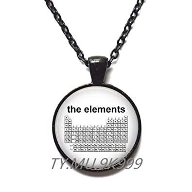 Amazon Charming Necklace Beautiful Necklaceperiodic Table Of