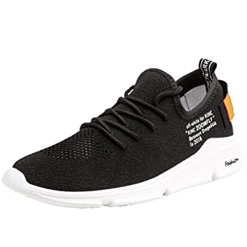 YAN Zapatillas de Deporte de Carretera Zapatillas de Deporte de Malla Casual Zapatillas de Deporte atléticas para Gimnasio Zapatillas de Deporte de Fitness ...