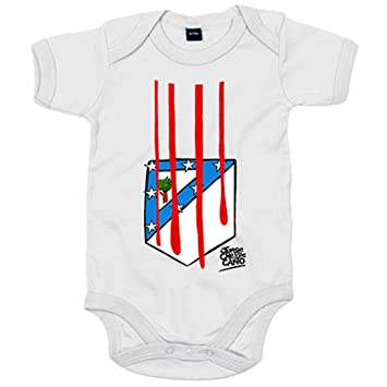 1628664bc Body Baby Atlético de Madrid The Blood of Coat of Arms 6-12 meses ...
