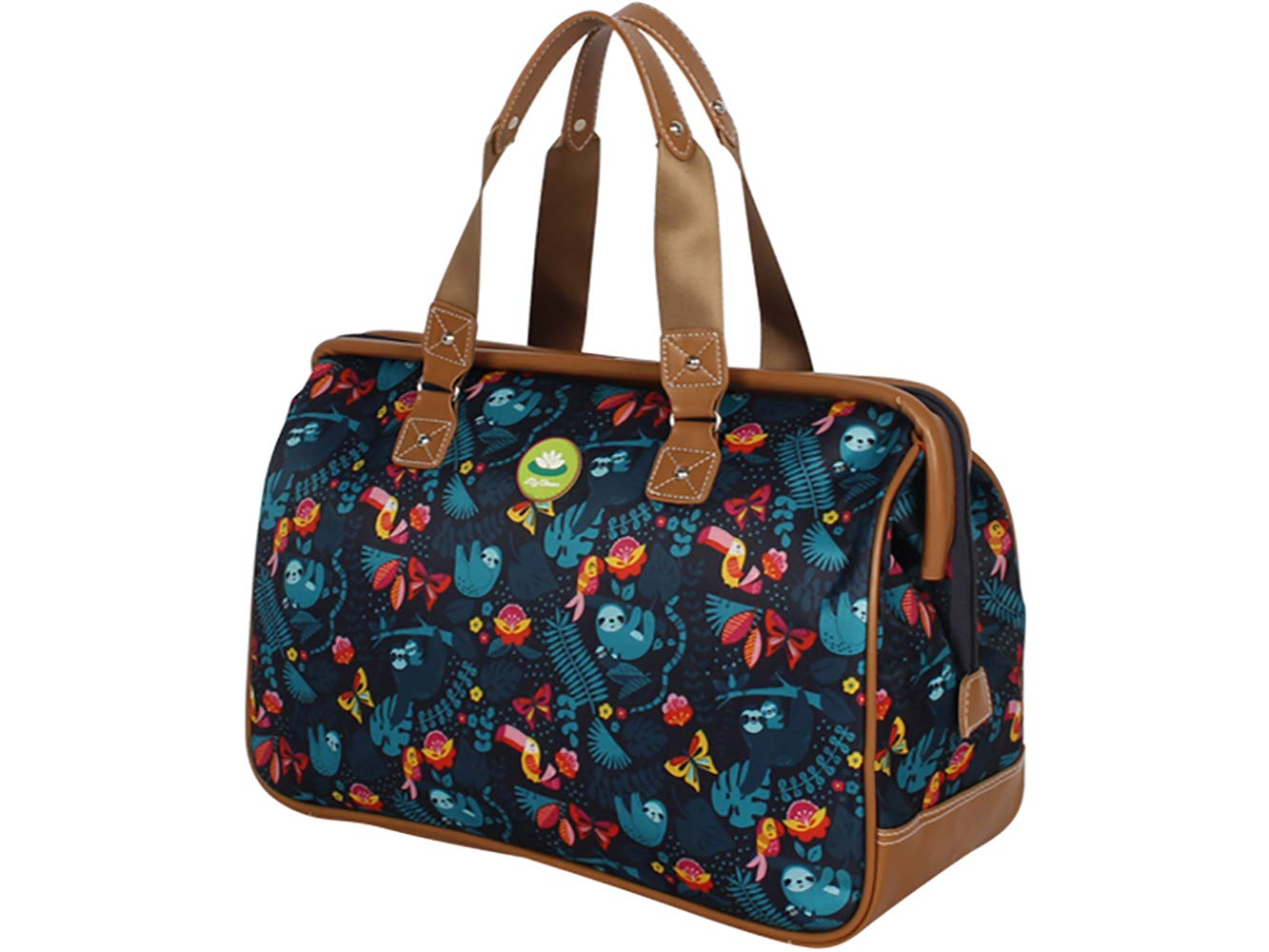 Lily Bloom Satchel (One Size, Sloth To Me Navy)