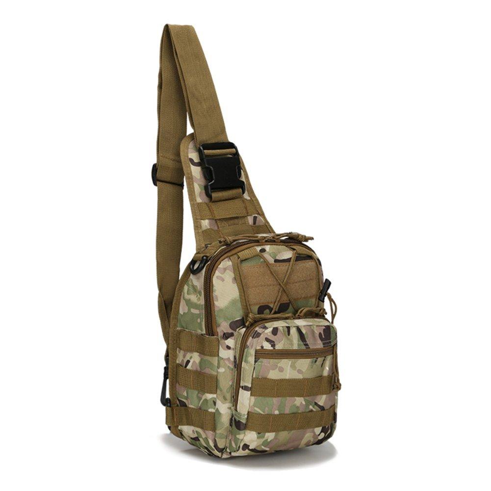 Joyful Store TacticalバックパックShoulder Bag Military Sling Chest Pack forハンティング、キャンプ、ハイキング、トレッキング  8 B074PNJFGG