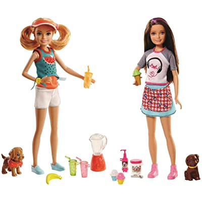Barbie Sisters Skipper Doll and Ice Cream Stand: Toys & Games