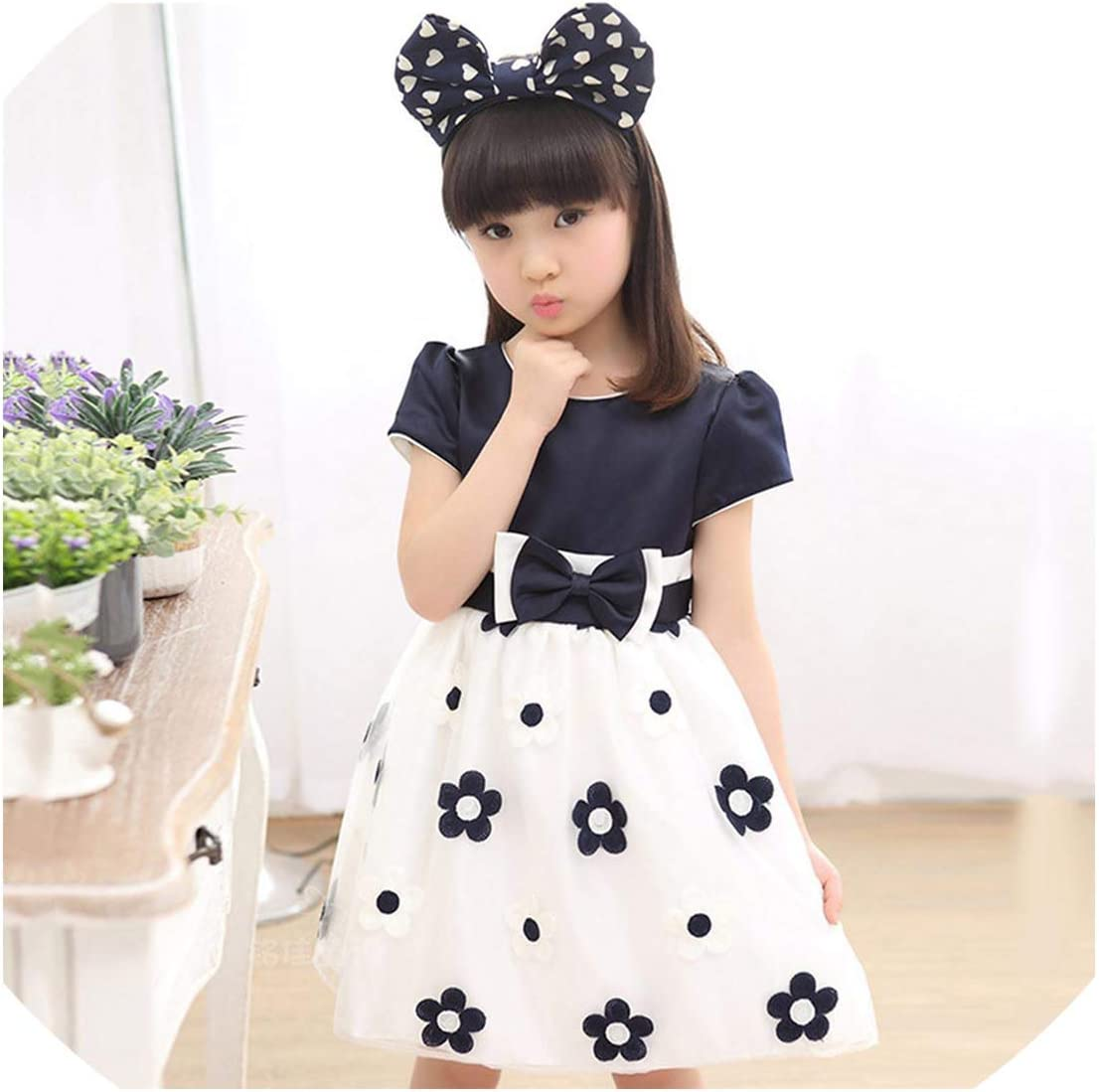 online retailer newest collection super quality Amazon.com: Floral Dress for Big Girls Winter Mesh Girls Dress Bow ...