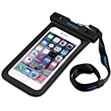Mpow Custodia Cellulare Impermeabile IPX 8 Universale Waterproof Cover Case per iPhone 6/6S/6S Plus, SE/5S, Samsung Galaxy S7, S6 Note 5 4, ecc